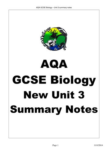 aqa biology past papers gce