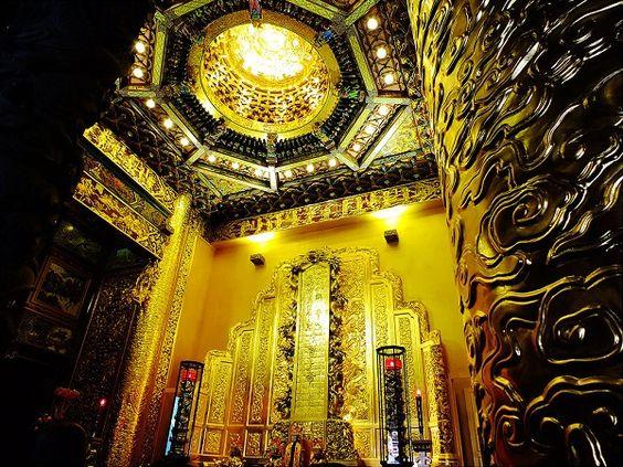 Vàng được sử dụng rất nhiều để xây dựng đền