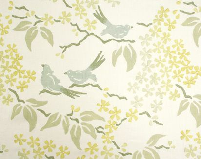 Birds in Mineral from Galbraith & Paul. Spring 2012 Collection.