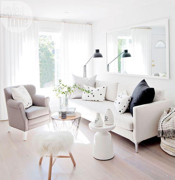 Decoracion De Salas Pequenas Salas Modernas Como Decorar Una Sala Pequena Salas Economic Small Modern Living Room Living Room Scandinavian Small Living Room