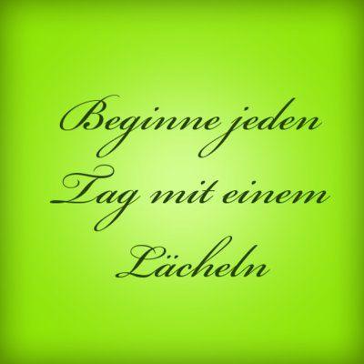 Beginne jeden Tag mit einem Lächeln | erdbeerlounge.de