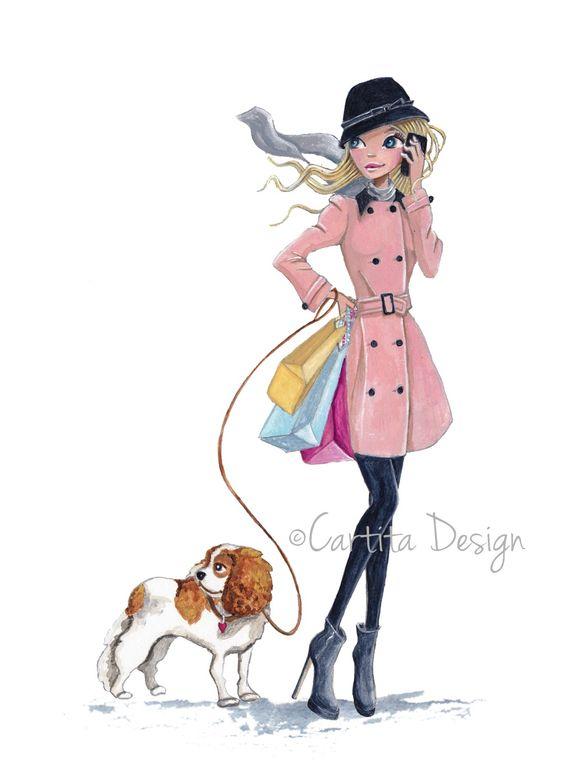 Fashion Girls | Cartita Design ©2013
