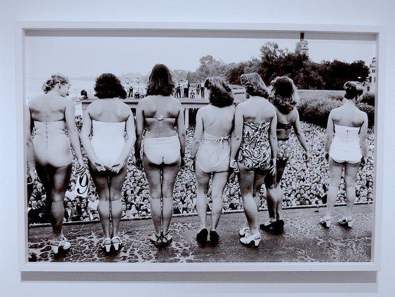 Erich Lessings Foto der polnische Misswahlen in den 60er Jahren