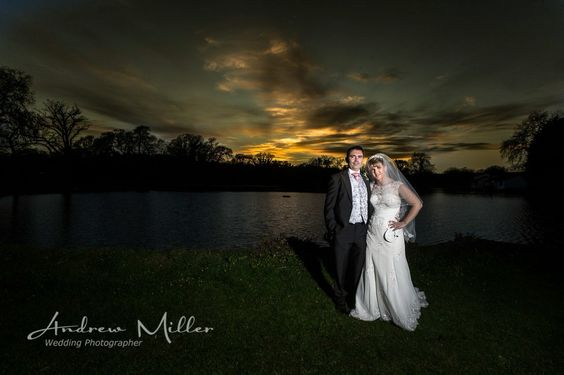 Sunset wedding photography. Learn how -  http://andrew-miller.co.uk/wedding-photography-training-day-andrew-miller-photography/