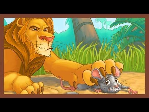 ▶ The Lion and the Mouse - ABCmouse.com Aesop's Fables Series - YouTube