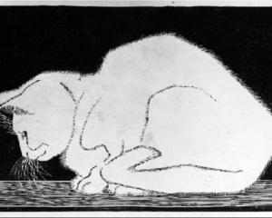 White Cat II - M.C. Escher - 1919
