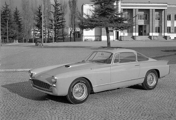 Ferrari 410 Superamerica Coupe by Boano 1955