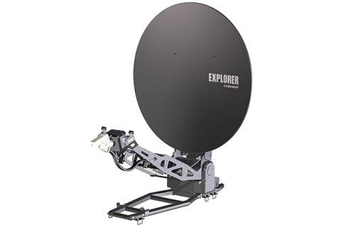 Explorer 8120 1 2 Stabilized Auto Acquire Drive Away Antenna System W Scalable Buc Options Antenna System Satellites