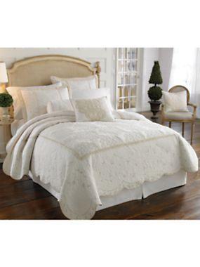 Lenox Opal Innocence Quilt, Shams U0026 Decorative Pillows | LinenSource