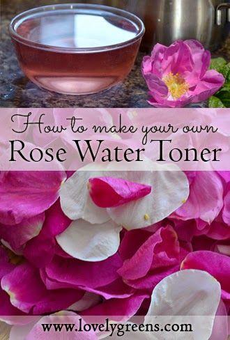 Uso pétalos para hacer su propia natural de agua de rosas rosa.  Como tónico facial alivia la inflamación, cierra los poros, y huele increíble #beauty