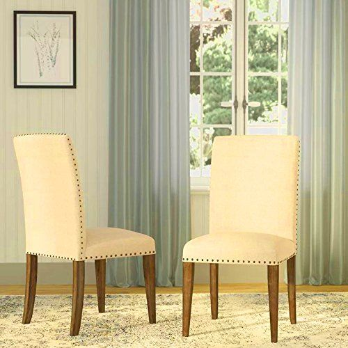 Armless Dining Chair Cushion Upholstered Dining Chair Contemporary