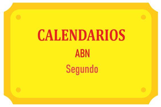 Calendarios ABN Segundo