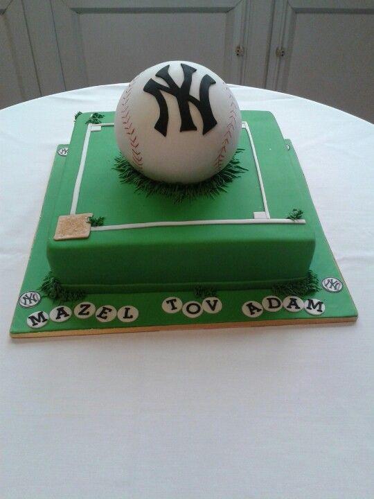 Adam's Bar mitzvah cake