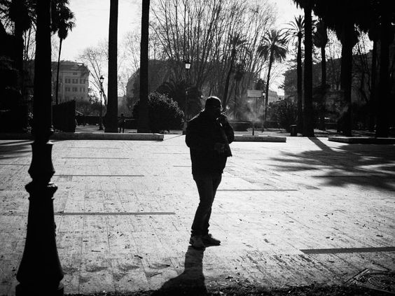 morning cigarette by fotoschalk