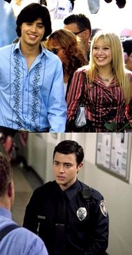 @Brittany Freeman.... WHOA!!!!!!!!!!!!!!!!!!!!  Paolo from The Lizzie McGuire Movie is also Garrett from Pretty Little Liars. My brain just exploded...