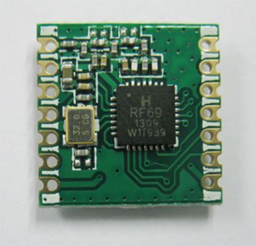 RFM69CW 433Mhz RF Wireless Transceiver Module RFM12B Compatible Footprint