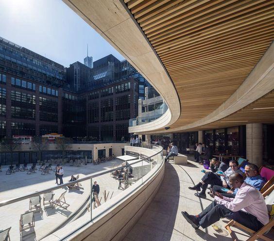 Broadgate Circle | Arup Associates | Archinect | Arkitektur ... : arkitektur inspiration : Arkitektur