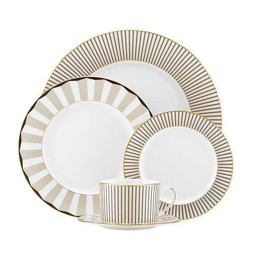 Brian Gluckstein By Lenox Audrey 5 Piece Place Setting With