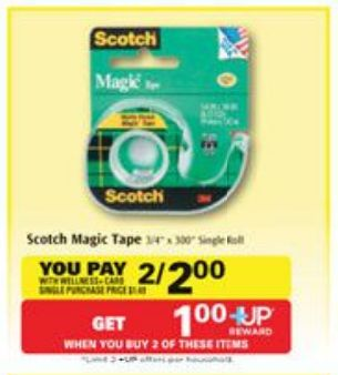 FREE Scotch Tape at Rite Aid through Tomorrow after Sale, Rite Aid Coupon and +Up Reward! - http://www.couponaholic.net/2014/12/free-scotch-tape-at-rite-aid-through-tomorrow-after-sale-rite-aid-coupon-and-up-reward/