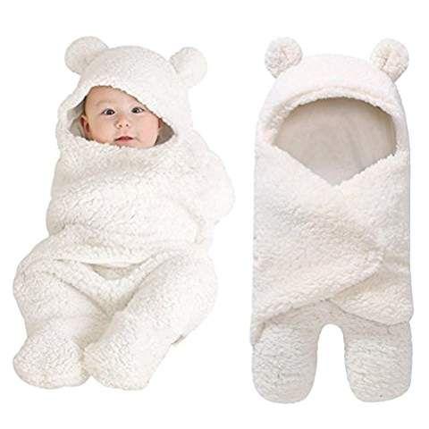 Neugeborenes Babydecke Swaddle Pucksack Wickeldecke Warme Kinderwagen Schlafsack