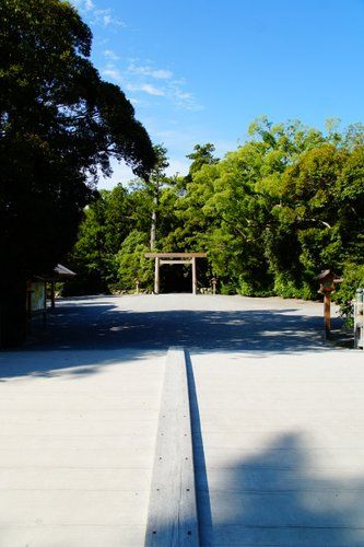 外宮  in Japan Ise Jingu