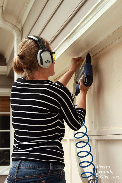 How to Install Weatherstripping on a garage door