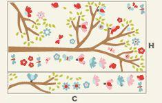 Cartela Adesivo Árvore Infantil