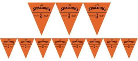 Spalding Pennant Banner 12ft - Party City