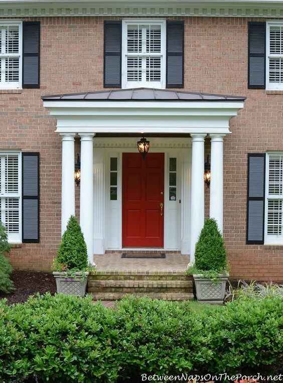 How much does it cost to build a front porch planters for How much does it cost to build a brick house