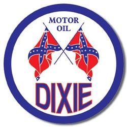 Dixie Motor Oil Tin Sign | Gas and Oil | Pinterest | Ps, Tins and ...