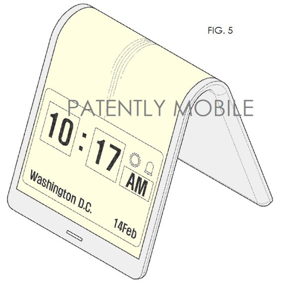Samsung files for a mind-bending flexible phone patent