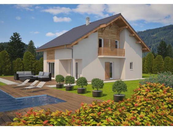 Mod le natura alpes maison traditionnelle tage de for Modele de maison a etage