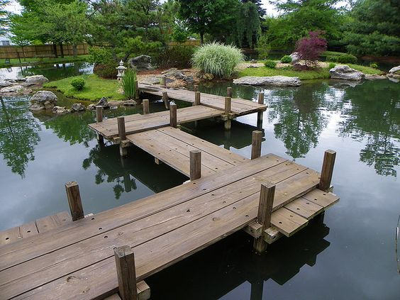 Ponds Walkways And Backyard Ponds On Pinterest