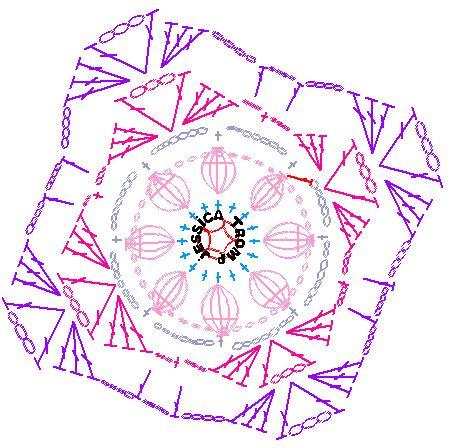 Flower pattern graphic