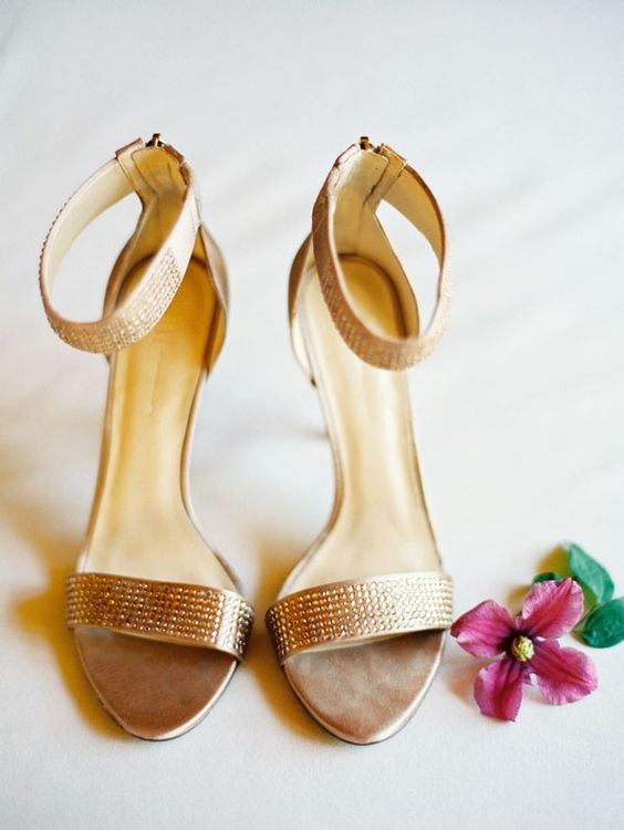 Bronze Wedding Shoes | Villas, Shoes heels and Bronze wedding