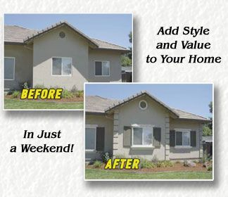 Stucco Curb Appeal Exterior Window Trim Foamtrim S Wall Window And Door Accents Are More