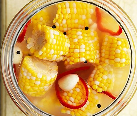 Pickled Corn ..... this sounds so amazing, especially with a nice smoked fish ..... mmmm