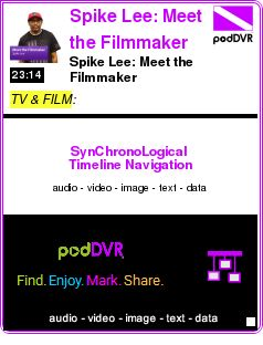 #TV #PODCAST  Spike Lee: Meet the Filmmaker    Spike Lee: Meet the Filmmaker    LISTEN...  http://podDVR.COM/?c=78e7b152-54eb-56cb-e4ab-81cf727ce996