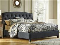 King Upholstered Bed Set