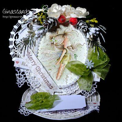 Gina's Cards: Mistletoe Fairy