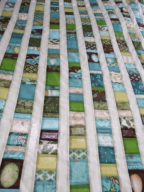 Beachglass quilt top by Anne@surelynotanotherproject (mianni2010), via Flickr