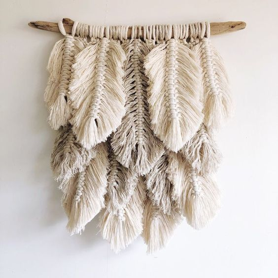 Small Plumage // natural, linen