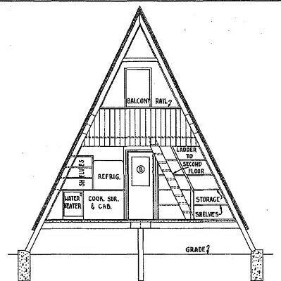 A Frame Cabin Plans 22 X 36 A Frame Cabin Plans A Frame House Plans A Frame House