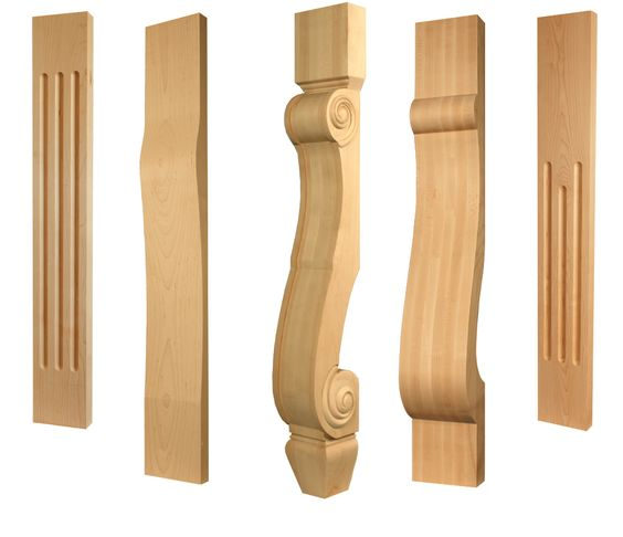 Cabinet Pilasters for Contemporary to Traditional Style Kitchens ...