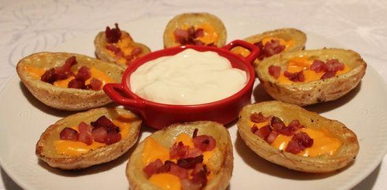 Potato Skins | Canoas de Batata