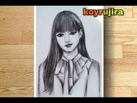 ภาพแรเงา Lisa Blackpink ล ซ า แบบฉบ บม อใหม Koyrujira Youtube ในป 2021 ล ซ า