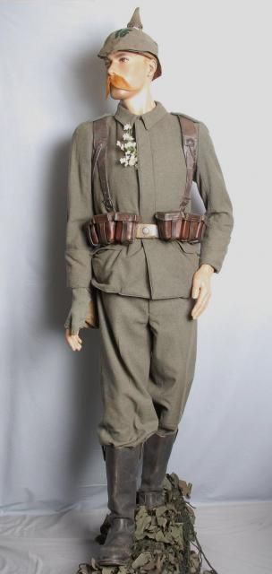 German World War 1 Army Uniform. | World War One ...