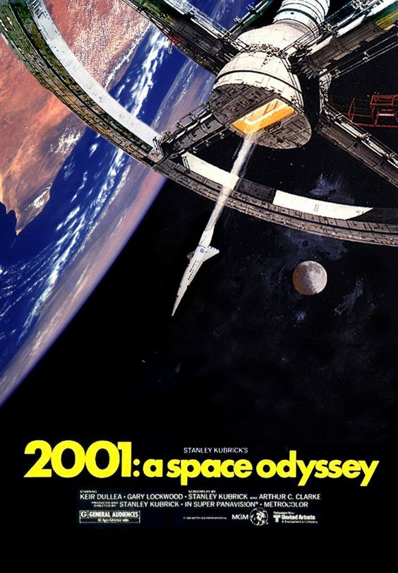 28: 2001: A Space Odyssey (1968). Kubrick's film of the book by Arthur C. Clarke is to some nowadays rather dull...I still find it amazing. A film that says in essence we are more than mere matter or even animals....we are Intelligence itself. Held by some rightly to be the greatest science fiction film of all time.