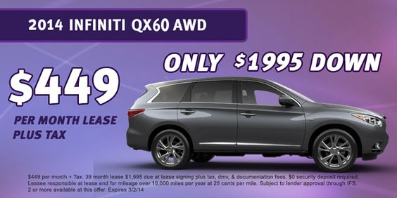 18 best Sacramento Infiniti images on Pinterest Sacramento - month to month lease