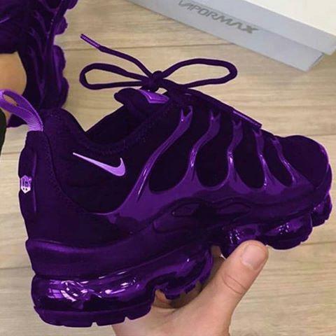 Purple sneakers, Nike shoes